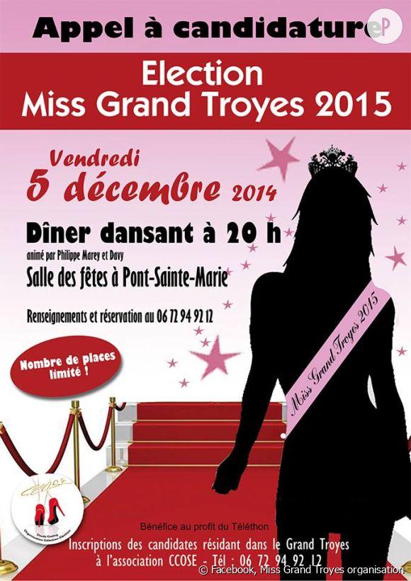 L'élection sans prétention de Miss Grand Troyes a malheureusement été entachée par un scandale !