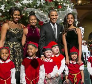 La famille Obama au grand complet fête Noël avec classe et élégance