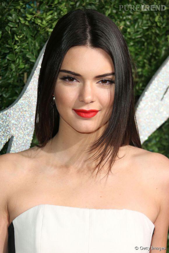 Connu La jolie Kendall Jenner sait comment porter le rouge vif mat  EU37