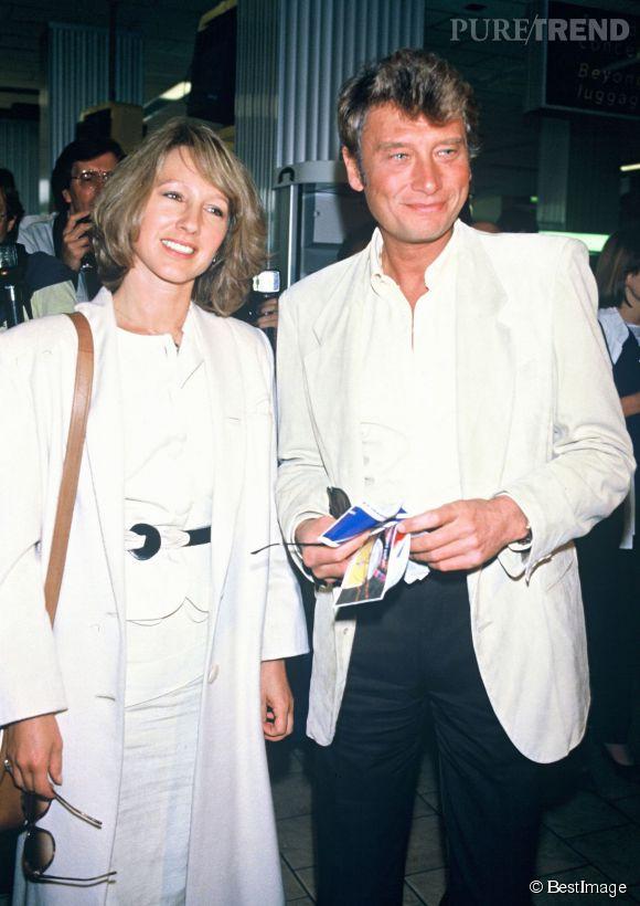 En 1982, Johnny Hallyday rencontre Nathalie Baye. Leur histoire durera  jusqu\u0027en 1986.