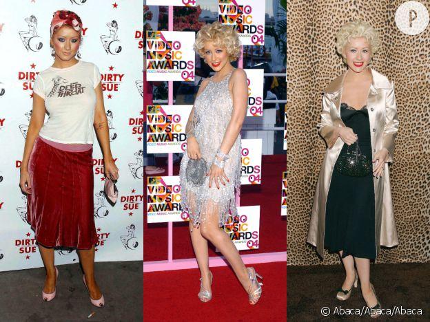 Les différentes métamorphoses de Christina Aguilera.