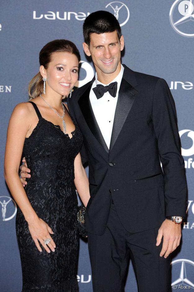 Novak Djokovic et Jelena Ristic