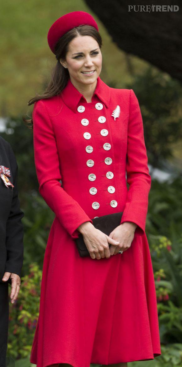 Kate Middleton, l'une des reines du style cette année encore.