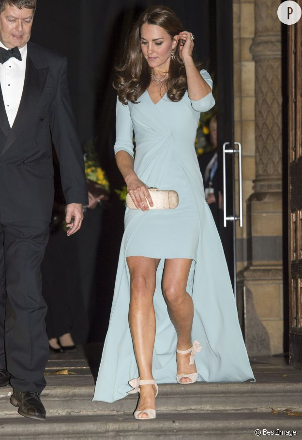 Kate Middleton, une vraie modeuse.