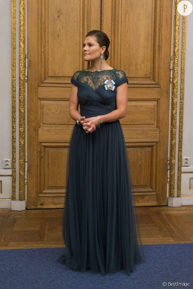 Victoria de Suède, élégante le 22 octobre 2014.