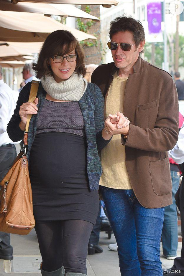 Milla Jovovich et Paul W.S Anderson