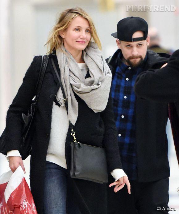 Cameron Diaz et Benji Madden du groupe Good Charlotte se sont mariés le 5 janvier 2015 à Beverly Hills.