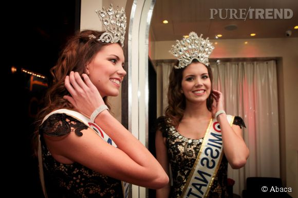 Miss Nationale 2015 : Allison Evrard et son impressionnante tiare.
