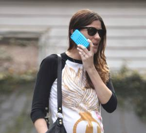 Jennifer Carpenter et son baby bump déjà bien visible.