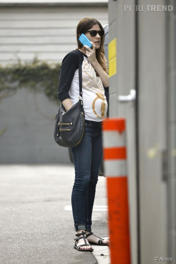 Jennifer Carpenter, future mère et future épouse.