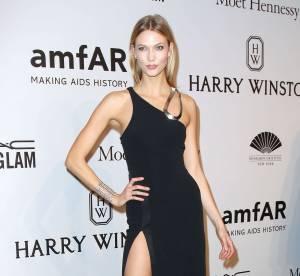 Karlie Kloss, divine au gala de l'amfAR : l'art de porter le fendu sexy