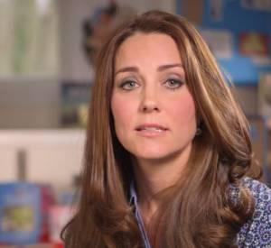 Kate Middleton soutient les enfants en vidéo !