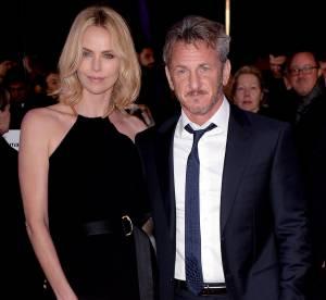 Charlize Theron et Sean Penn : un couple très amoureux sur tapis rouge !