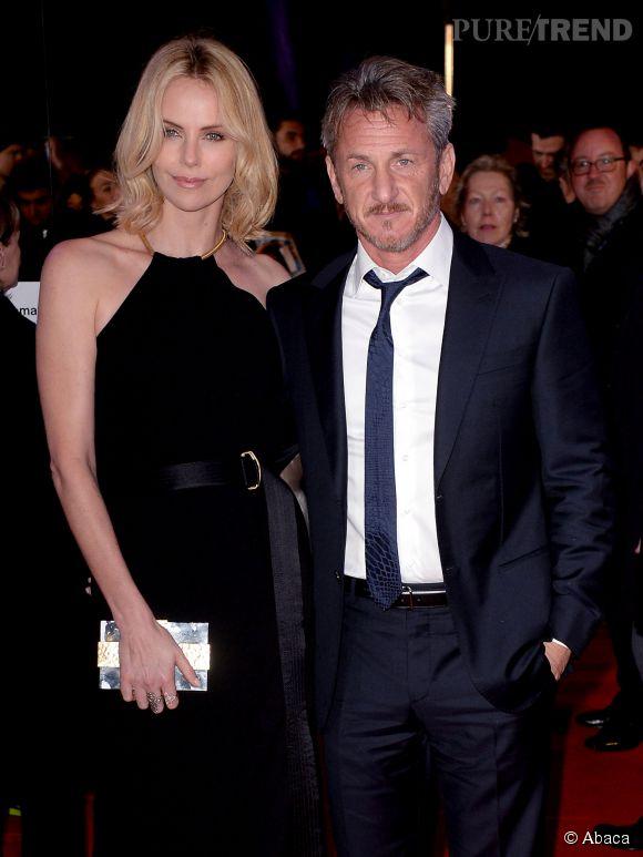 Charlize Theron et Sean Penn, en couple depuis un an.
