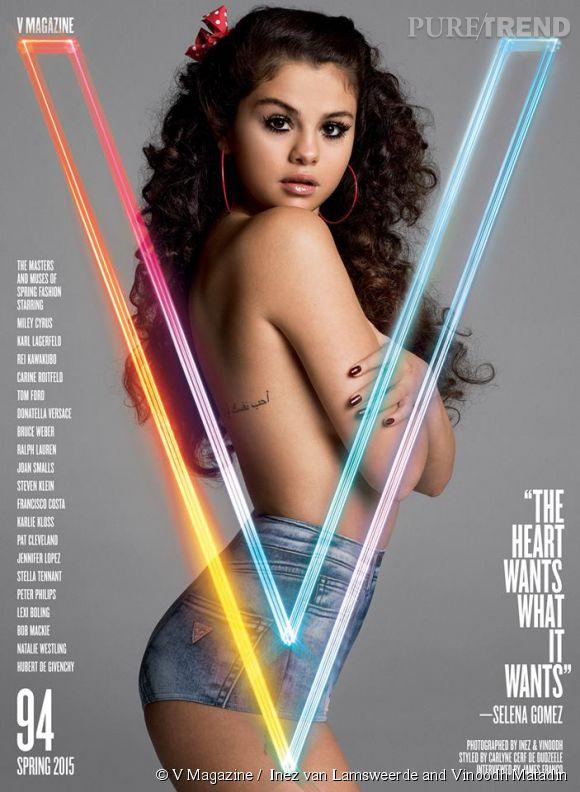 Selena Gomez pour V Magazine, numéro Printemps-Été 2015.