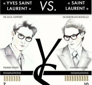 César 2015 : Pierre Niney ou Gaspard Ulliel ? Le duel des Saint Laurent