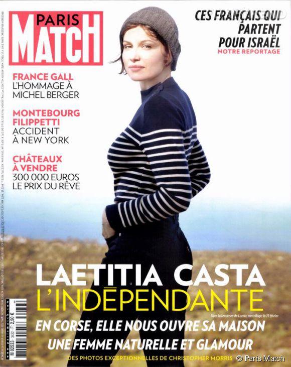 Anne Gravoin a accordé un entretien au magazine  Paris Match  (numéro du 23 février au 4 mars).