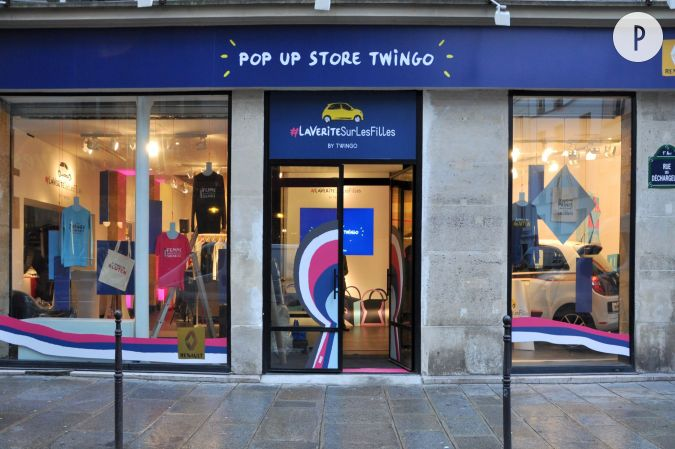 pop up store twingo lav rit surlesfilles15 rue des halles75001 paris. Black Bedroom Furniture Sets. Home Design Ideas
