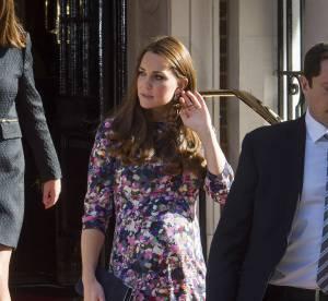 Kate Middleton de sortie : l'accouchement est imminent !