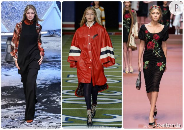 Gigi Hadid fait sa fashion week