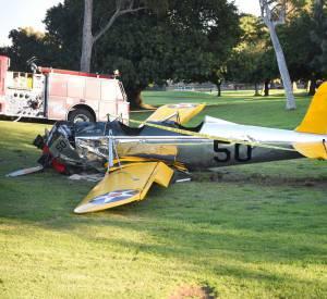 Les images impressionnantes de l'avion d'Harrison Ford, qui date de la Seconde Guerre mondiale.
