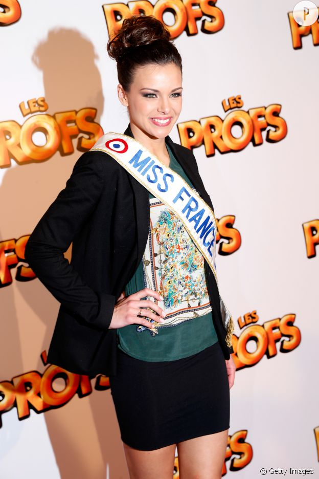 Marine Lorphelin sexy Miss France 2013