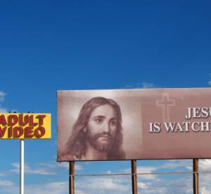 """Jesus is Watching You"", 2014."