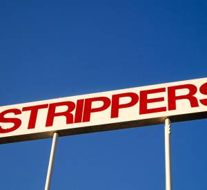 """Strippers"", 2014."