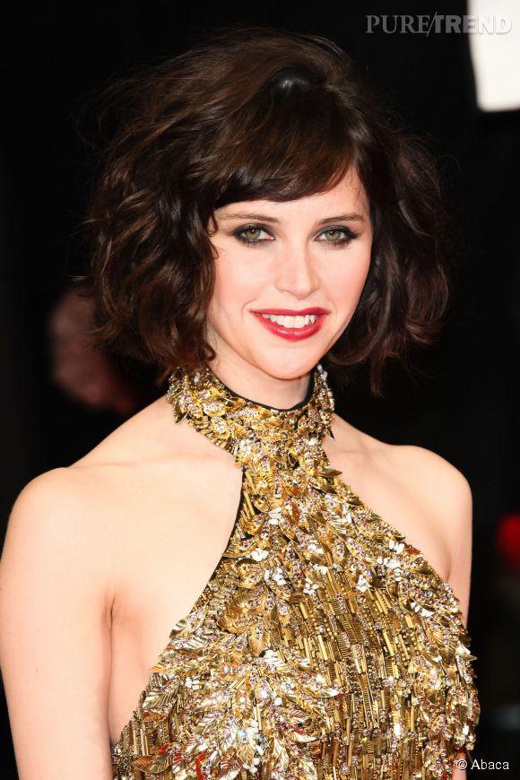 Une coiffure tendance pour adopter le Felicity Jones : le wob ...