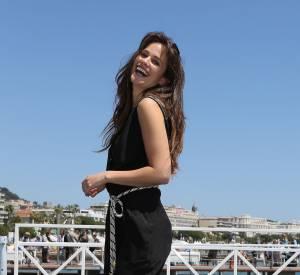 Lucie Lucas, sexy au Festival de Cannes 2014.