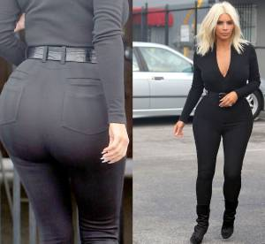 Kim Kardashian : 10 photos chocs de son fessier surdimensionné