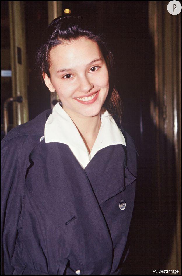 Virginie Ledoyen en 1994 : 18 ans et déjà une star.