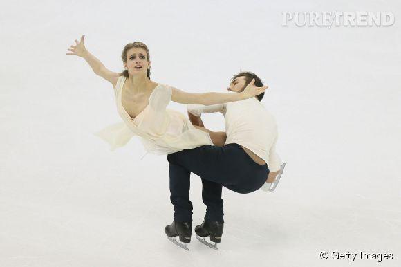 Gabriella Papadakis et Guillaume Cizeron ont été sacrés champions du monde de danse sur glace ce 27 mars.