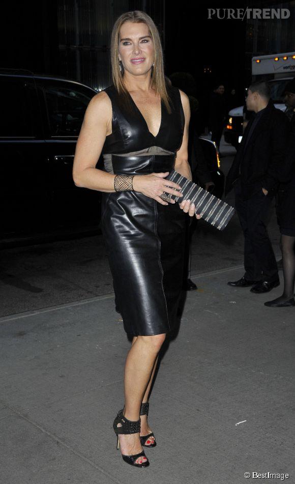 Brooke Shields, toujours aussi sexy à 49 ans passés.