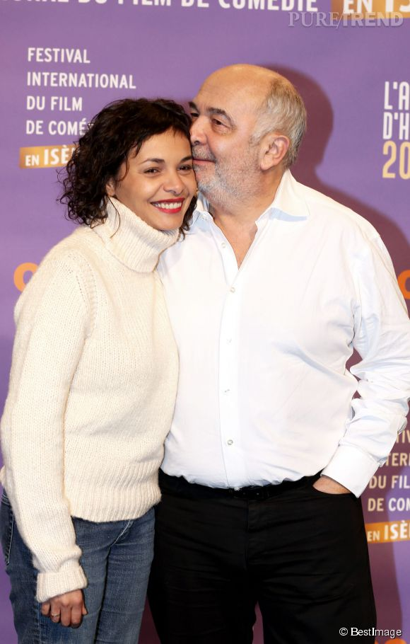 Gérard Jugnot et Saïda Jawad début 2014.