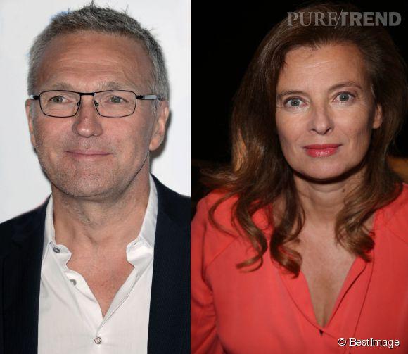 """Laurent Ruquier s'en est pris à Valérie Trierweiler sur France 2 dans """"On n'est pas couché"""", samedi 11 avril 2015."""