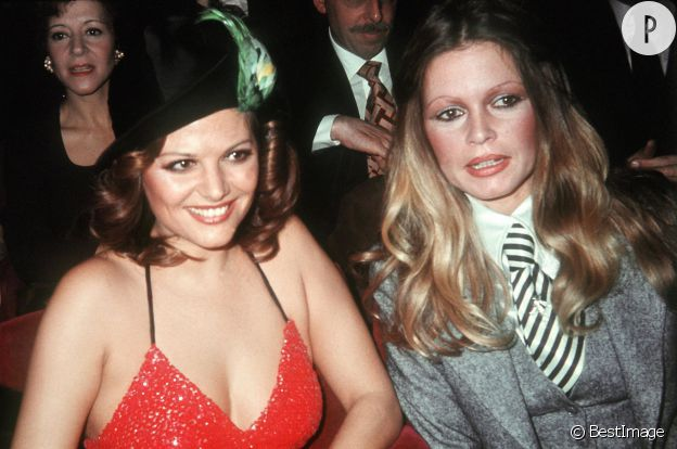 Claudia Cardinale et Brigitte Bardot, deux sex-symbols.