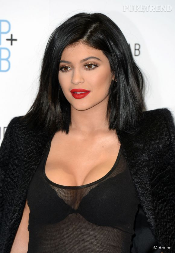 Kylie Jenner, accro aux tenues hot sur le tapis rouge comme sur Instagram.