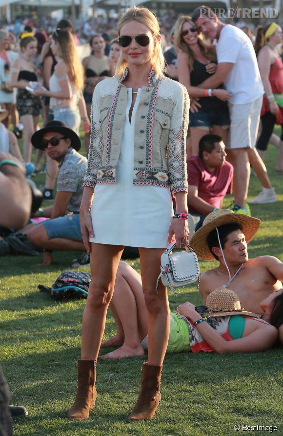 Kate Bosworth à Coachella.