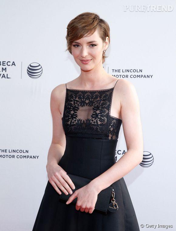 """Louise Bourgoin a présenté son prochain film au festival de Tribeca : """"Mojave""""."""