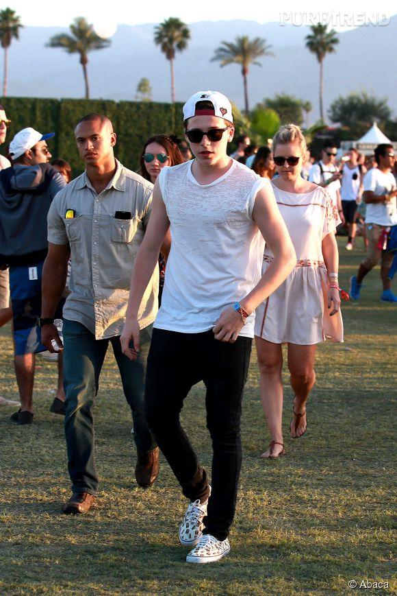 Brooklyn Beckham à Coachella.