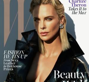 Charlize Theron : femme fatale à couper le souffle pour W Magazine