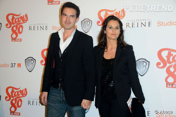 Faustine Bollaert et mari, l'écrivain Maxime  Chattam.