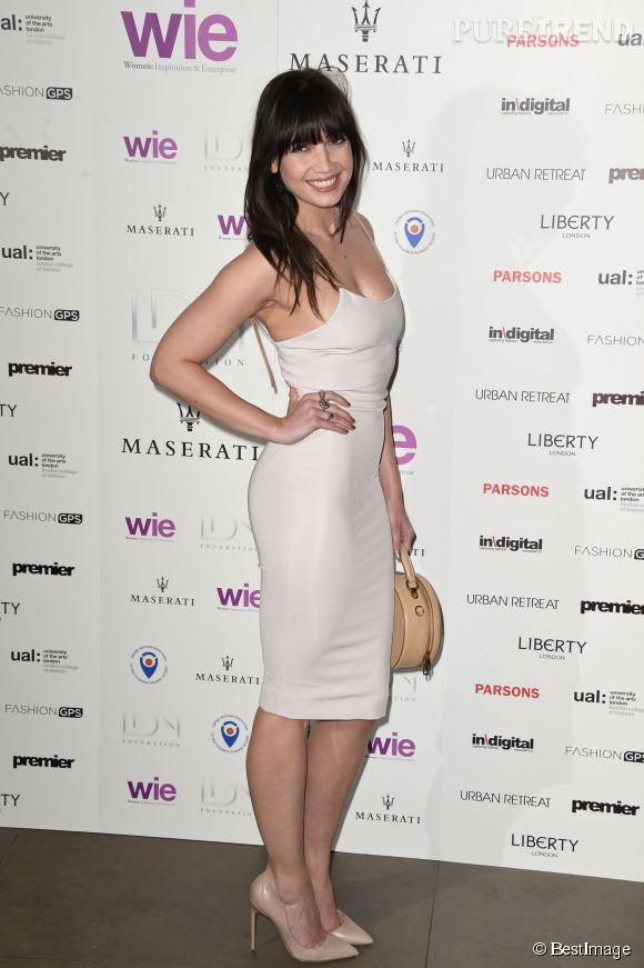 """Daisy Lowe à la soirée """"LDNY fashion show & WIE Award Gala"""" le 27 avril 2015 à Londres."""