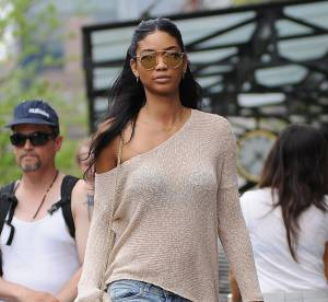 Chanel Iman : sa leçon de style en séance shopping... Un look à copier !