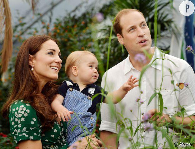 Le prince George, le bébé le plus influent des bébés de stars.