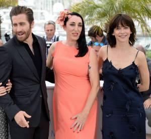 Sienna Miller, Jake Gyllenhaal, Rossy de Palma et Sophie Marceau lors du premier photocall du Festival de Cannes le 13 mai 2015.