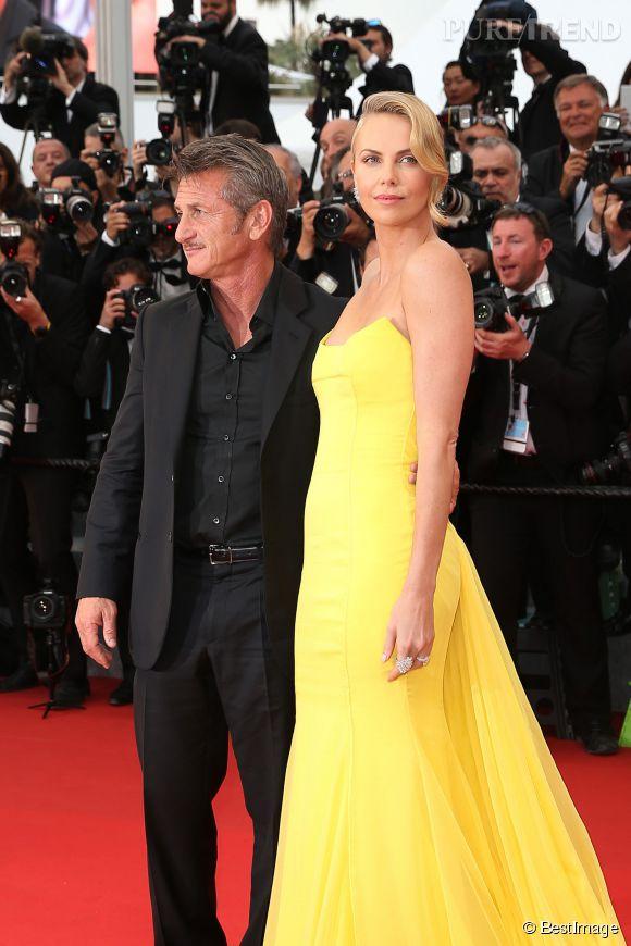 Ils forment LE couple le plus demandé de cette édition 2015 du Festival de Cannes : Sean Penn et Charlize Theron.