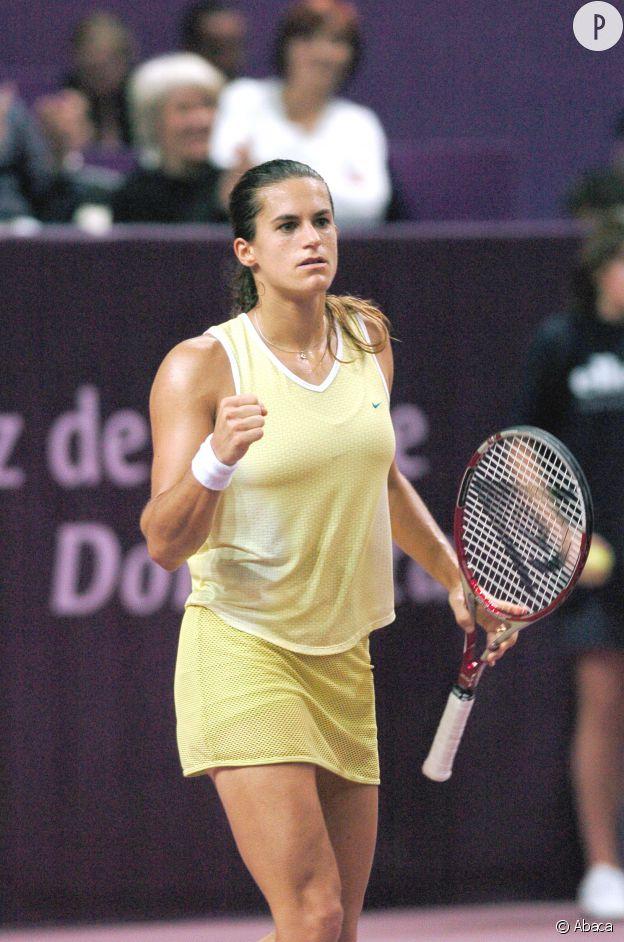 Amélie Mauresmo en 2005.