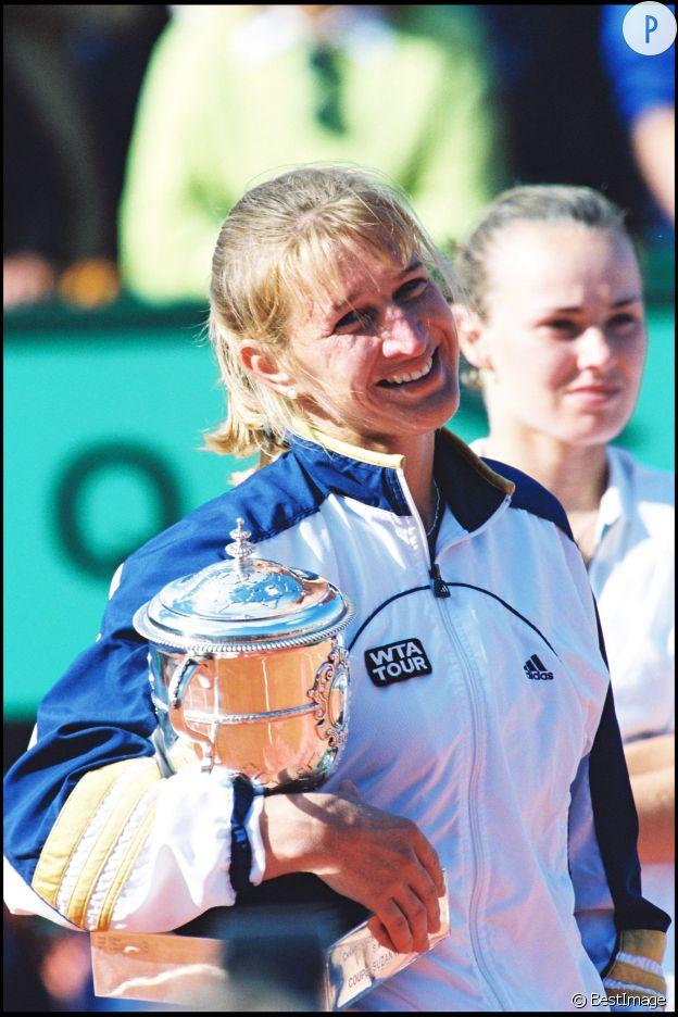 Steffi Graf à Roland Garros en 1999.
